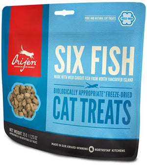 Orijen Freeze Dried 6 Fish Cat Treats