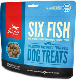 Orijen Freeze Dried 6 Fish Dog Treats
