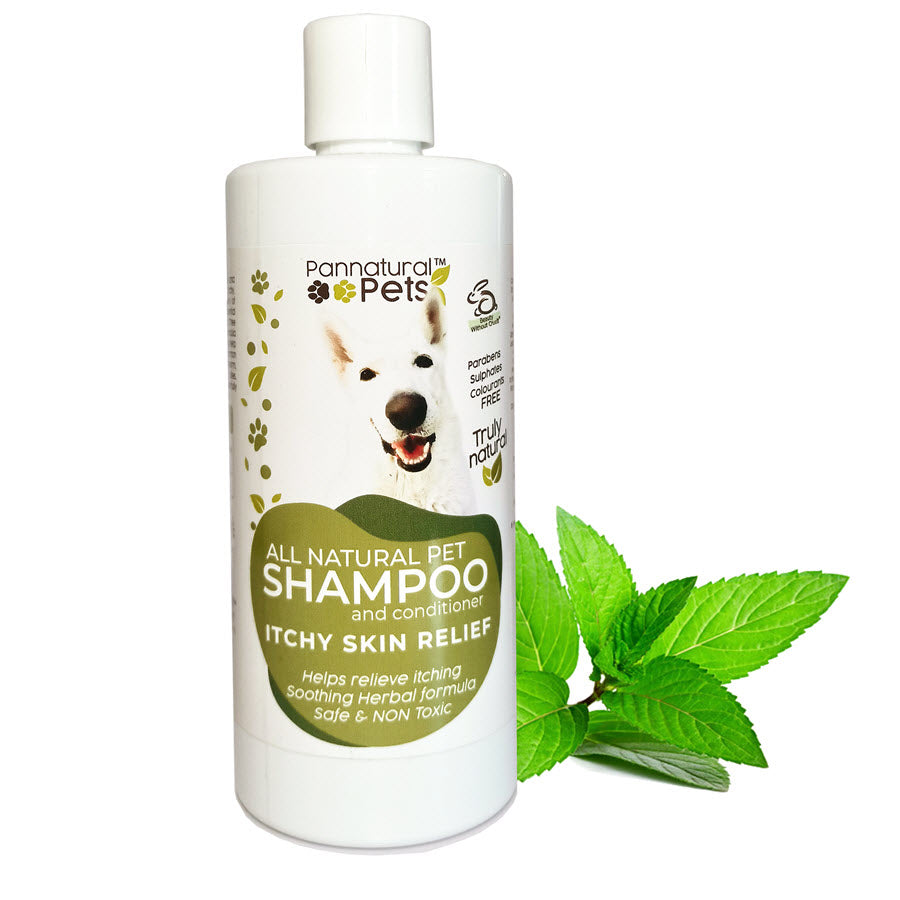 Pannatural Pets Shampoo – Itchy Skin Relief