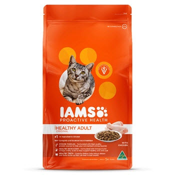 Iams Healthy Adult Cat Food with Chicken