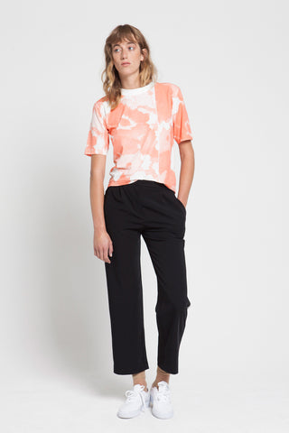 CREATE ROSES coral T-shirt