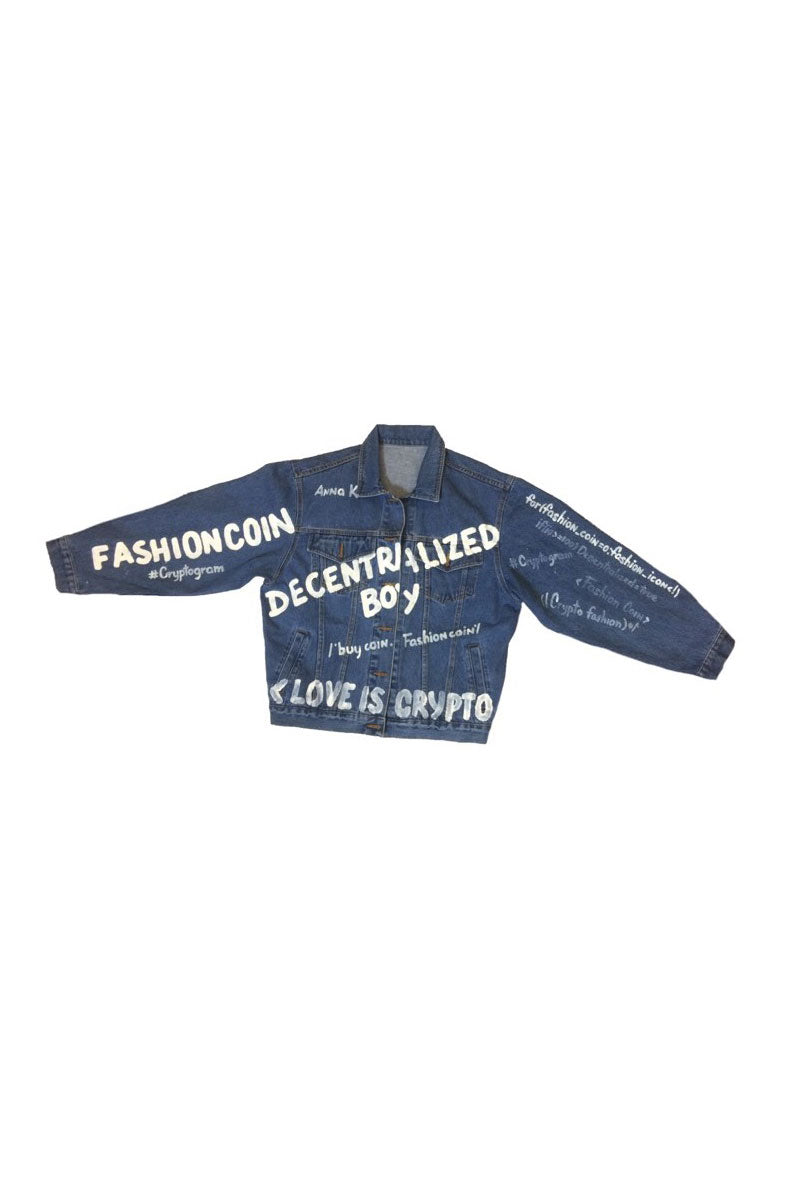 Denim jacket DECENTRALIZED BOY_SS18_JN03 - Anna K