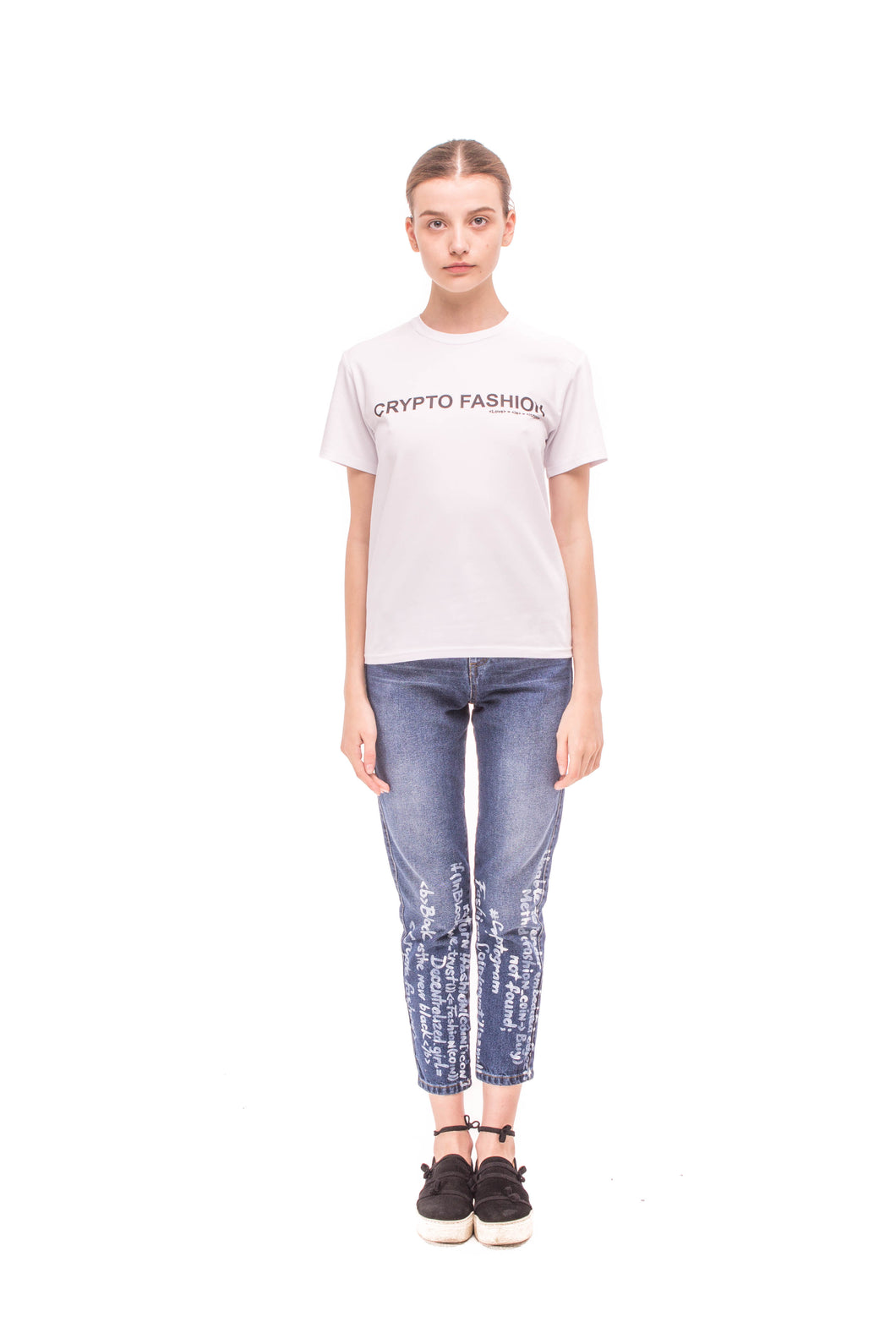 T-shirt CRYPTO FASHION SS_JR02 - Anna K