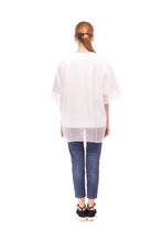T-shirt Decentralized girl with transparet layer SS18_TOP05 - Anna K