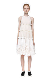 Layered dress with translucent top #016 - Anna K  - 1