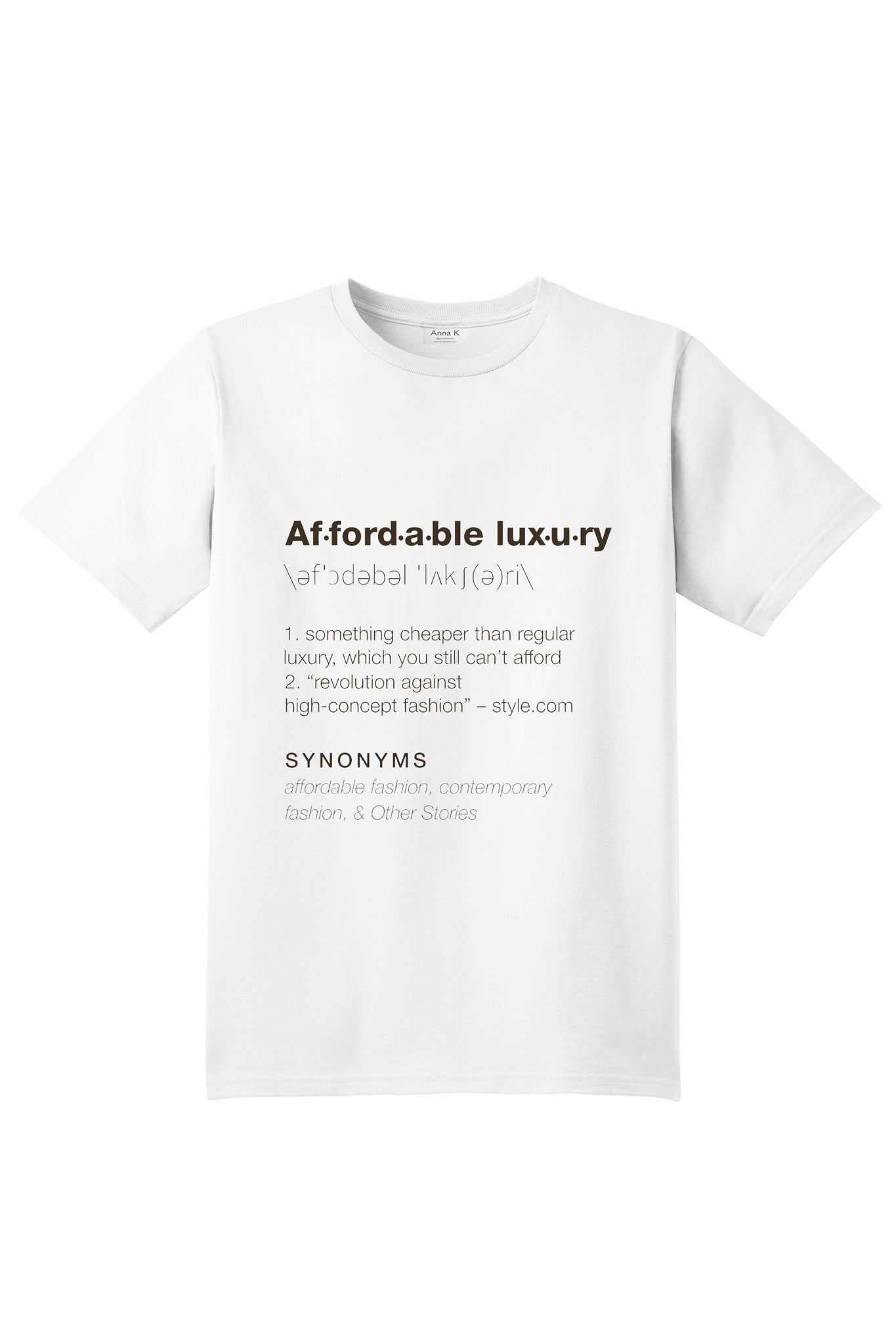 Affordable luxury - Anna K