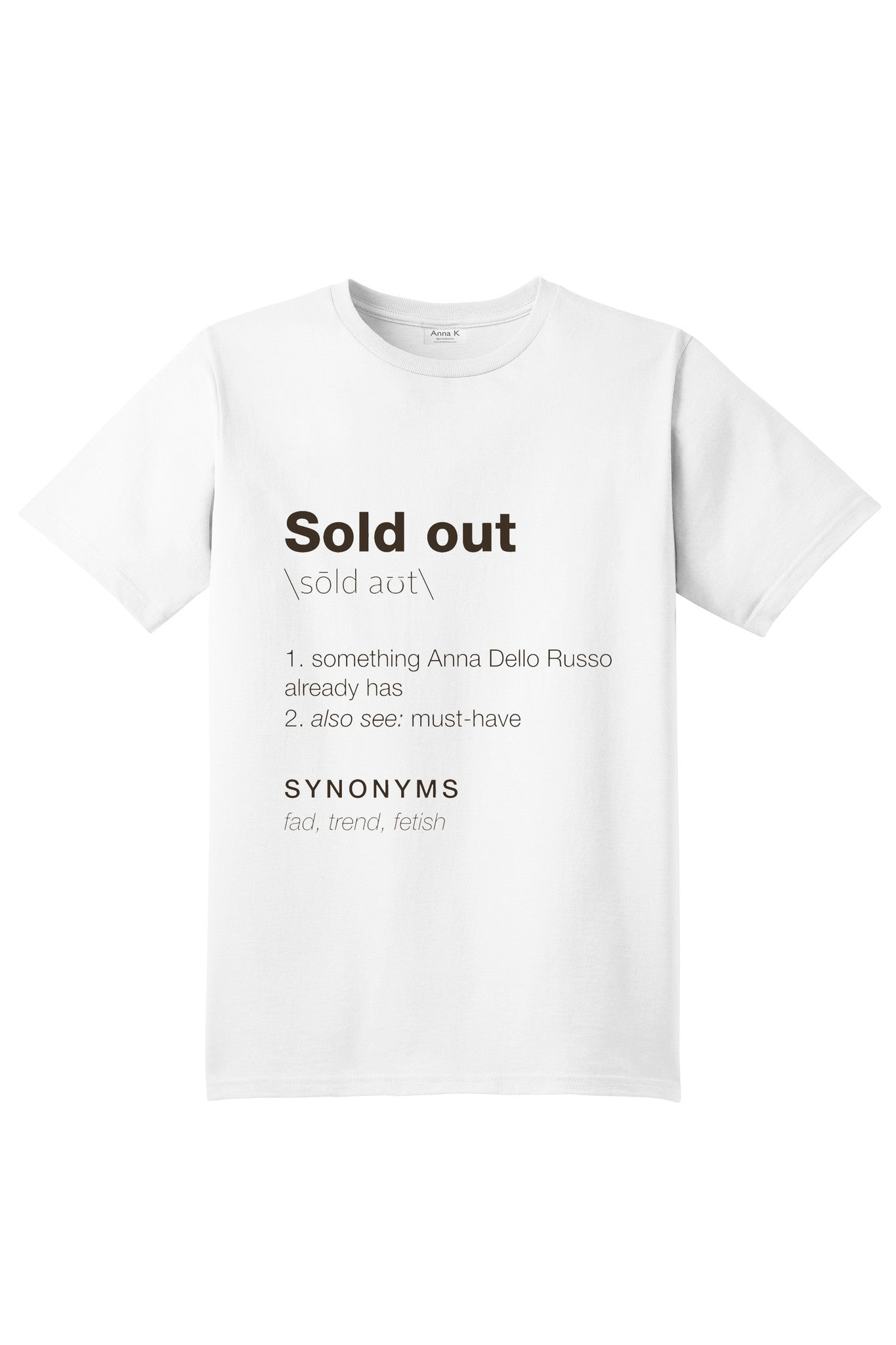 Sold out - Anna K
