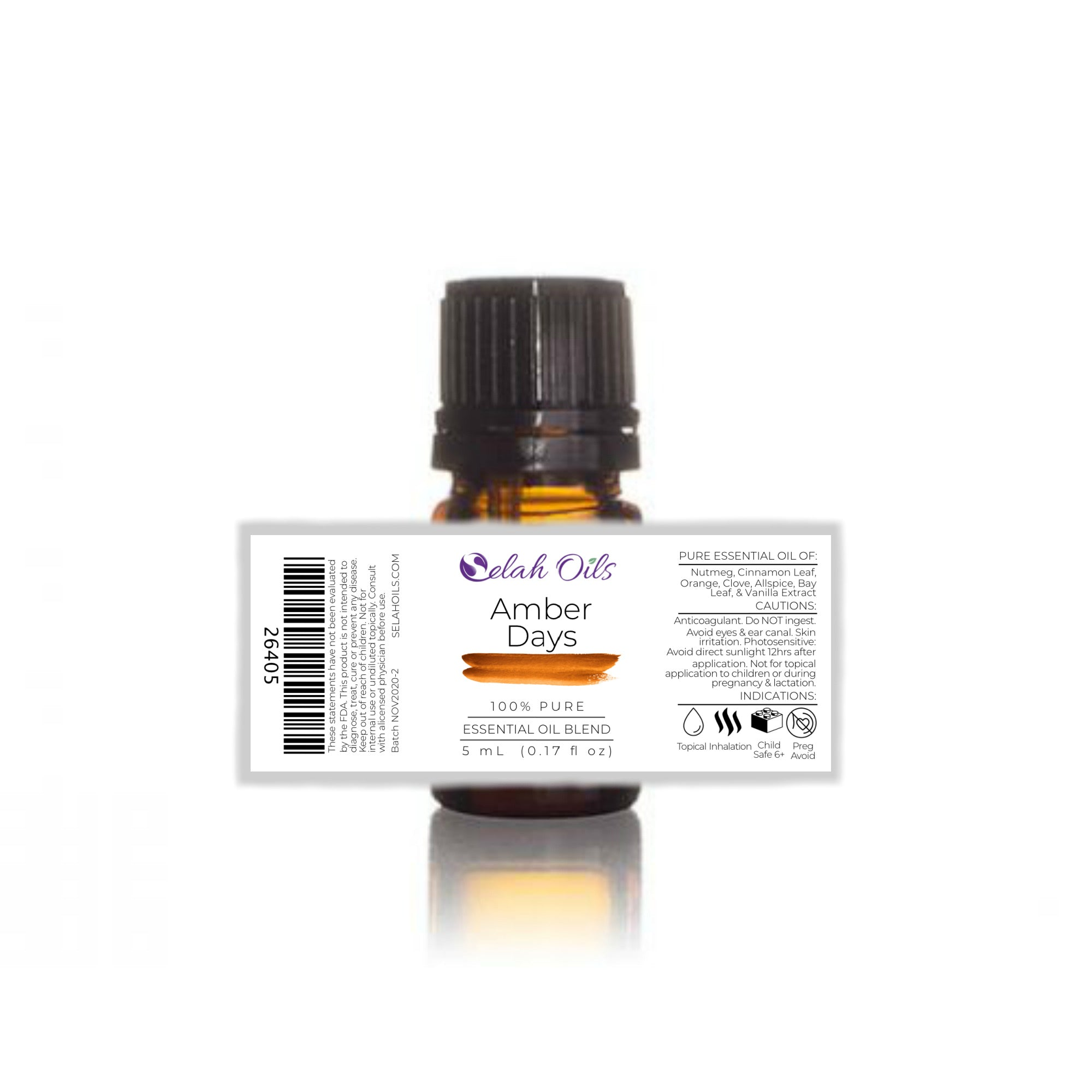 Amber Days Essential Oil Blend