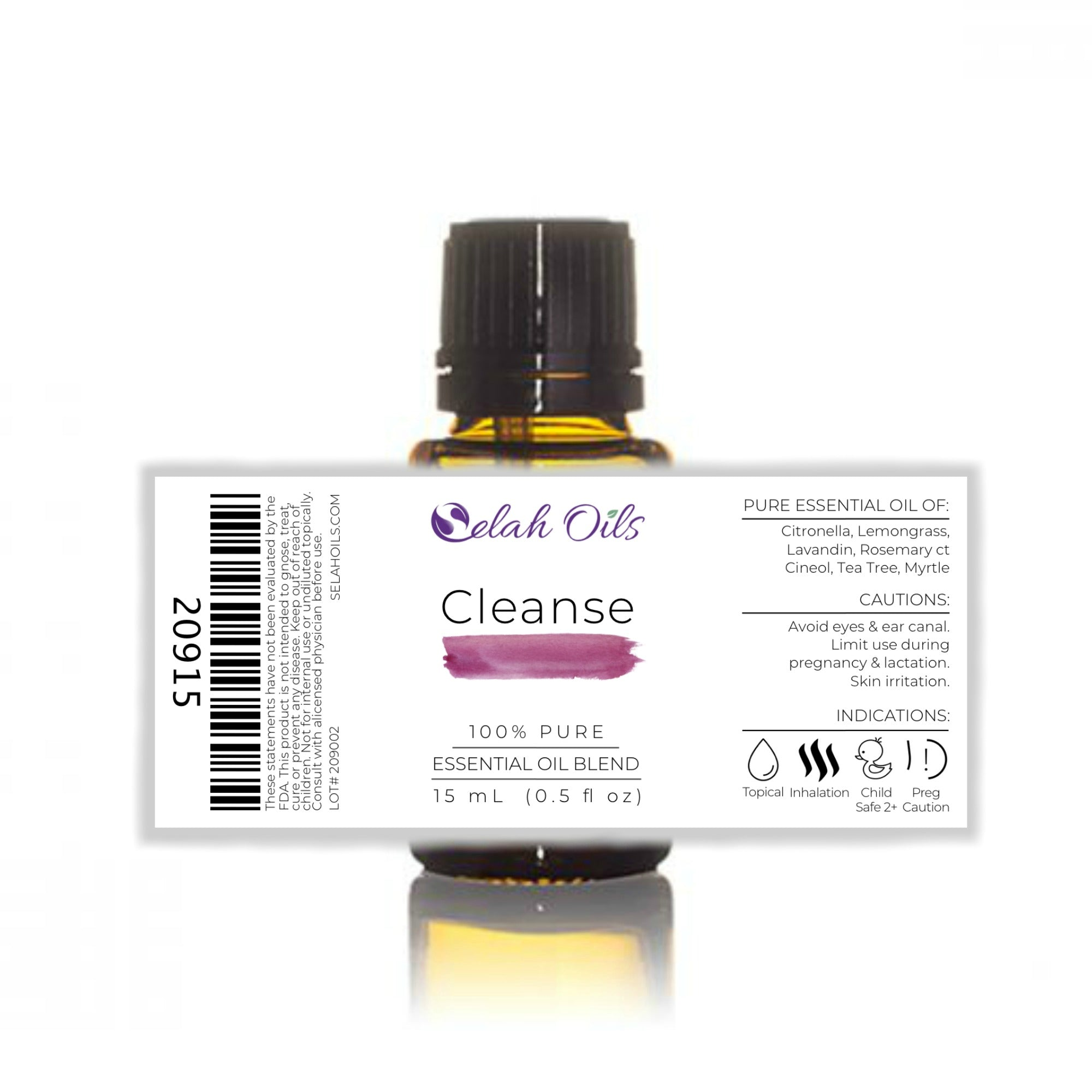 Cleanse Essential Oil Blend