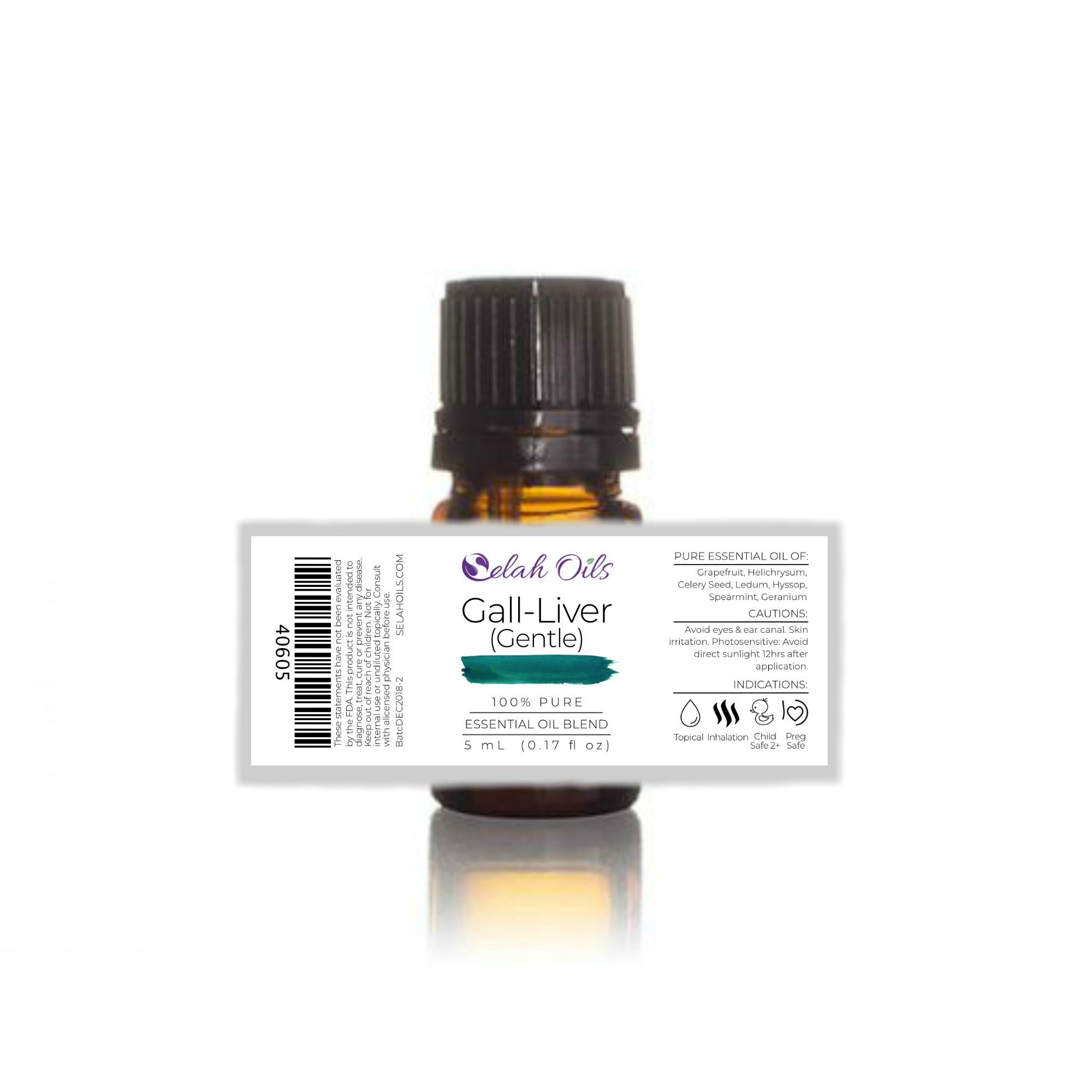 Gall-Liver Gentle Essential Oil Blend