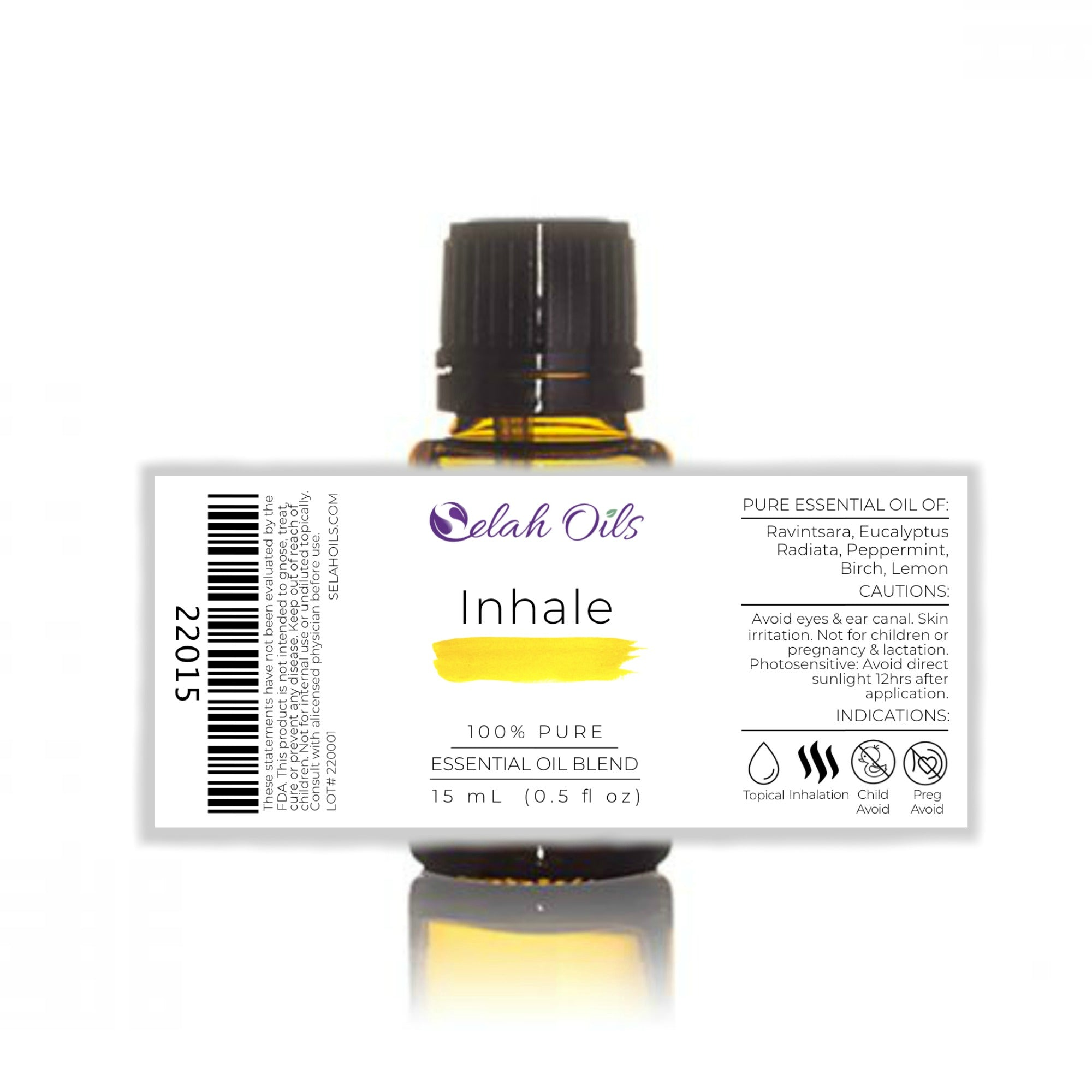 Inhale Essential Oil Blend