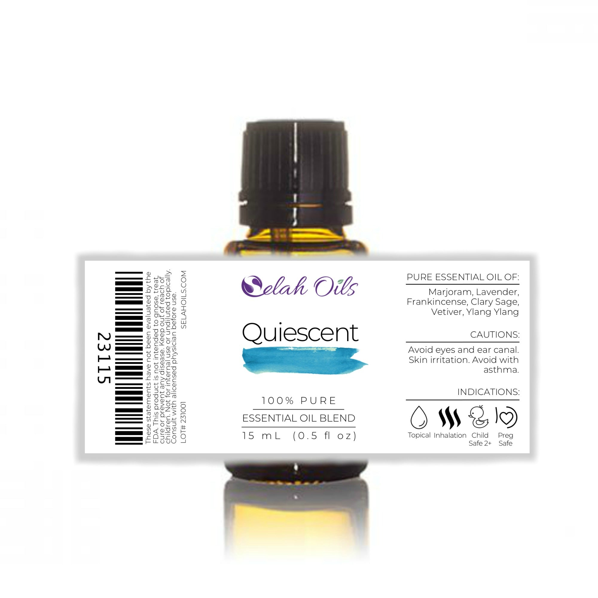 Quiescent Essential Oil Blend