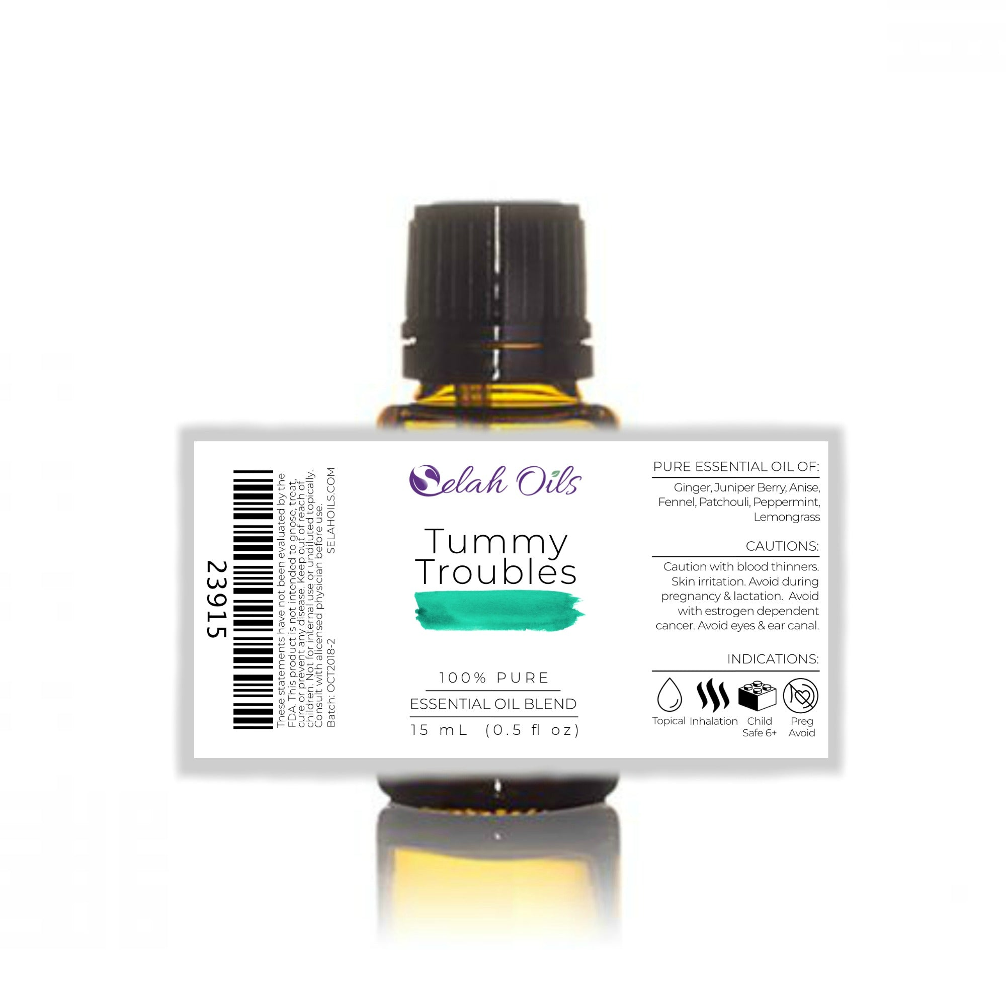 Tummy Troubles Essential Oil Blend