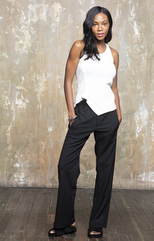 Namaste - Seductive Zen-like Elegance, Wide-leg Pants