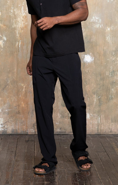Urban - Tailored Travel Tech Pant in Black