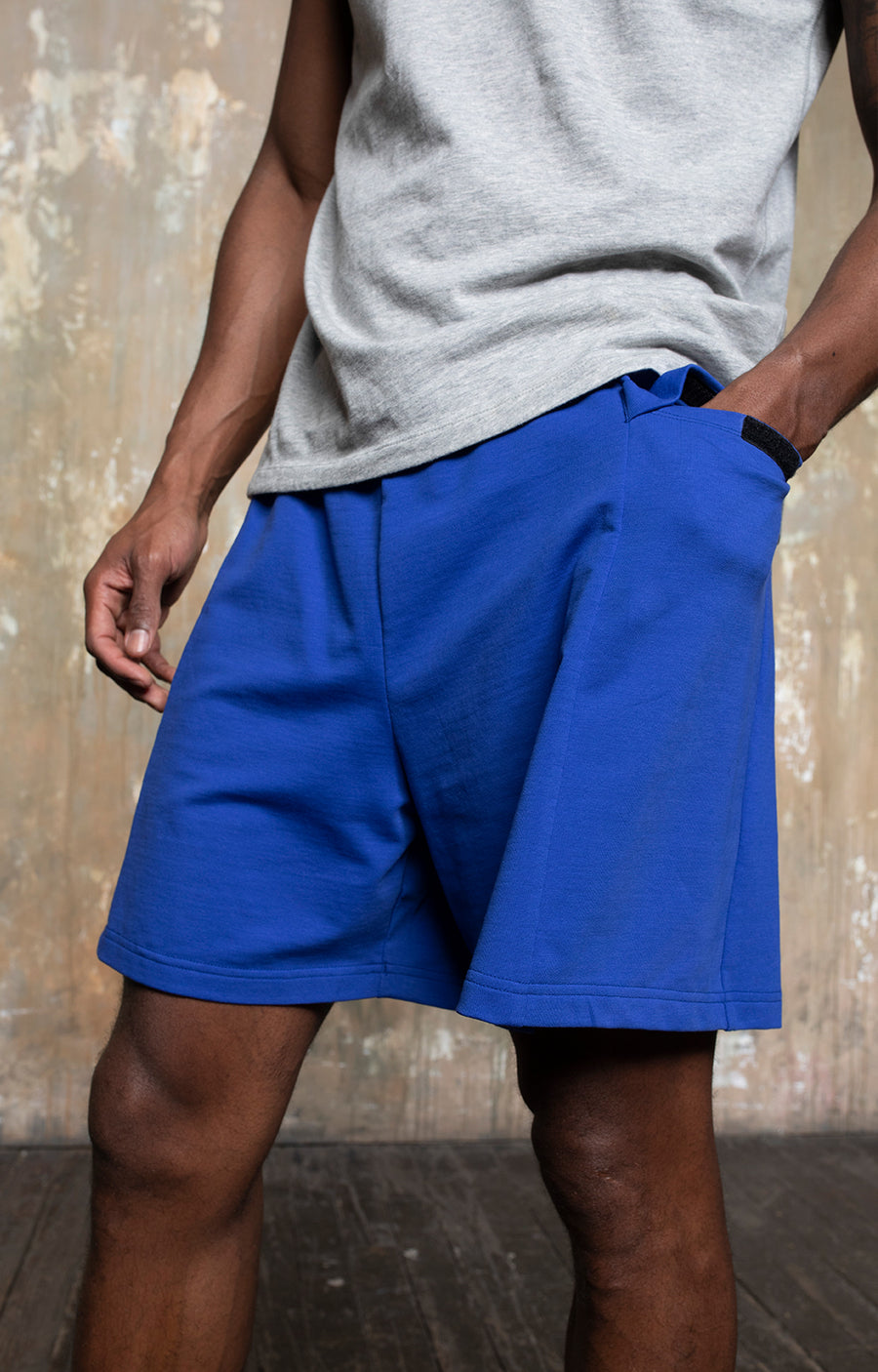 Sukha - Sky, Earth, Water Shorts in Royal Blue