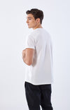 Agility - Shoulder Zip Pocket Pique Short Sleeve in White