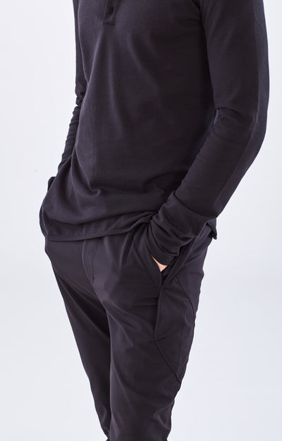 Resilience - Utilitarian Travel Tech Pant in Black