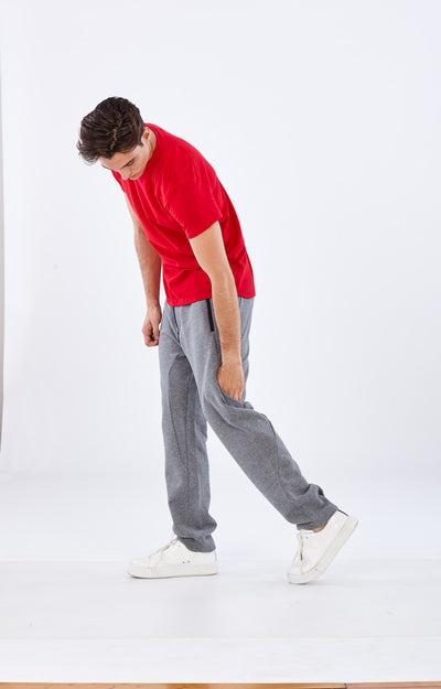 Nomad - Knit Pant in Heather Gray