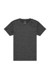 Euphoric - Merino Silk Travel Short Sleeve in Charcoal