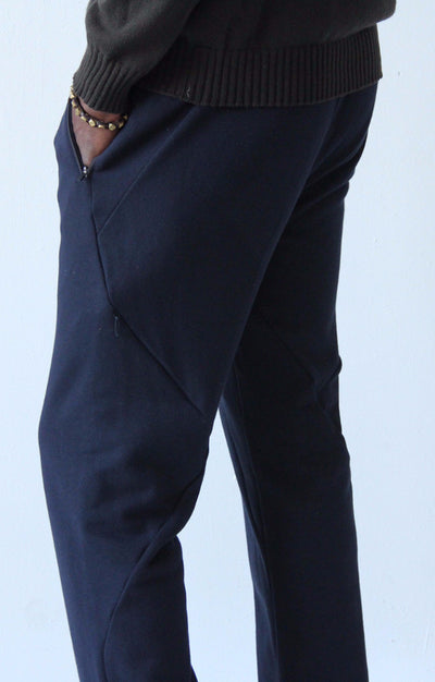 Nomad - Knit Pant in Navy