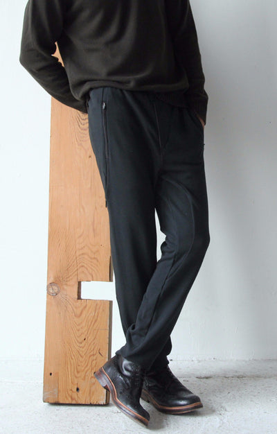 Nomad - Knit Pant in Black