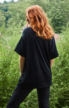 Tranquil - Effortless Elegance Merino T-shirt in Midnight