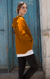 Imagination - Cotton Travel Hoody in Orange