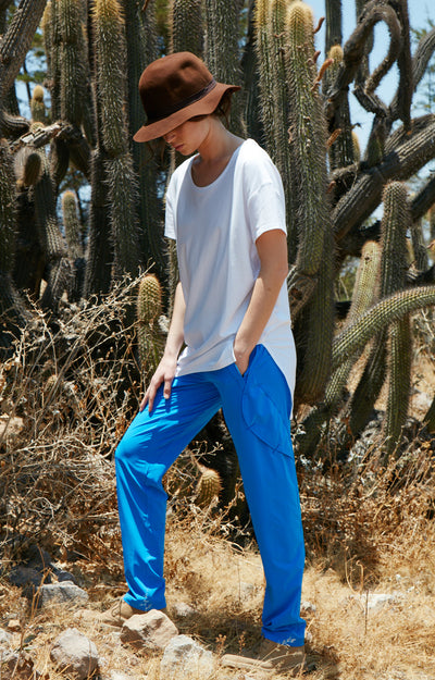 Resilience - Voyager Pant in Malawi Blue