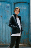 Women's Lucidity - Long-Haul Flight & Travel Hoodie in Black