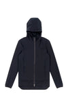 Women's Lucidity - Comfortable Zip-up Hoodie in Black