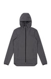 Imagination - Cotton Travel Hoody in Iron