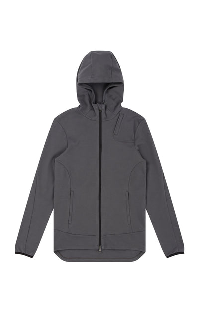 Imagination - Cotton Travel Hoodie in Iron