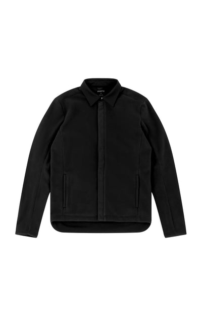Epoch - Super Soft Fleece Travel Jacket in Black