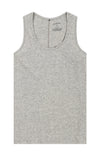 Spatial Purity - Tank in Heather Gray