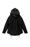 Euphoric - Cozy Hooded Cocoon Travel Jacket