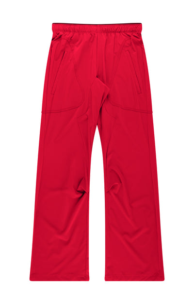 Conscious - Long Haul Flight Pant in Dark Red