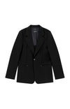 Capability  - Boyfriend Travel Blazer in Black