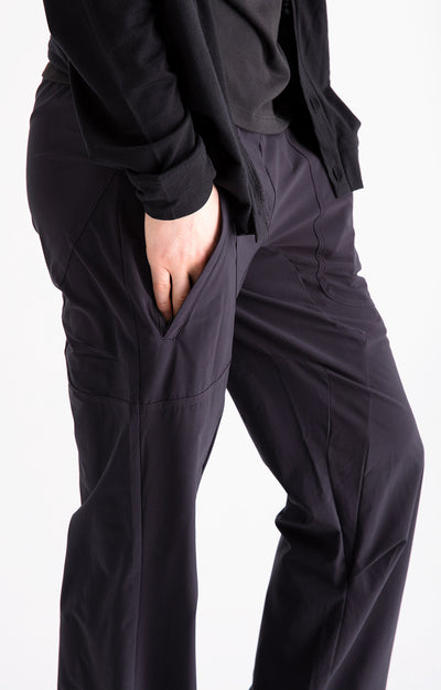 Conscious - Zen-Like Comfort Pants in Black