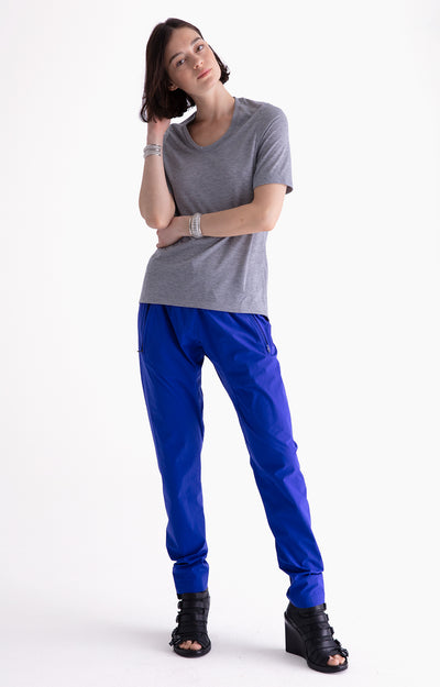 Harmonious - Relaxed Elegance and Comfort Pants in NEW BLUE