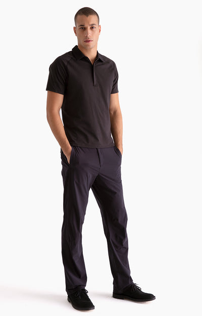 Wild Long-Haul Flight Travel Pants in Black