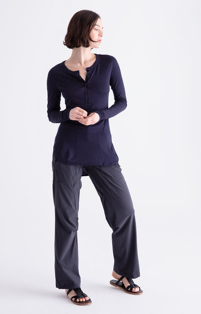 Conscious - Zen-Like Comfort Pants in Carbon