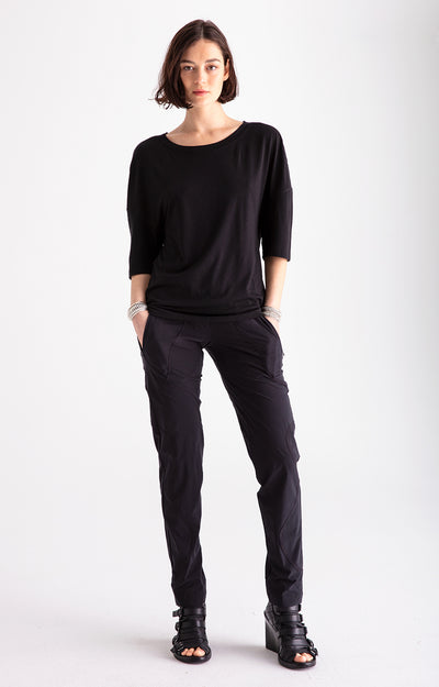 Wild – Beautiful Craftsmanship, Travel Utility Pants in Black