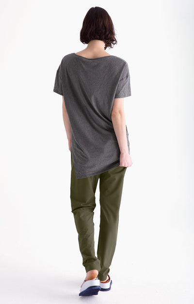 Inherent - Relaxed Fit Traveler Pants in Peat