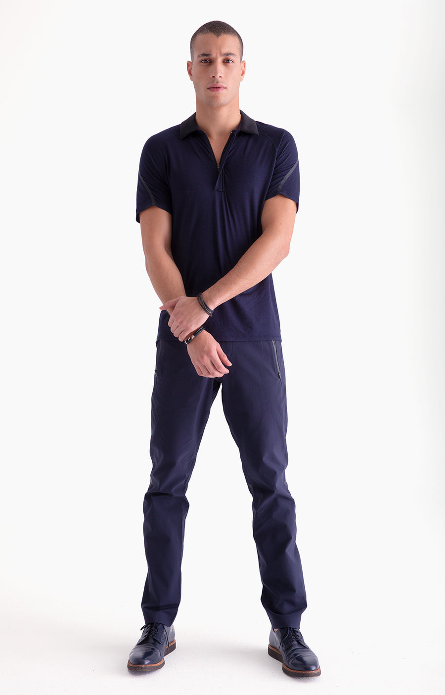 Artisan - Premium Engineered Performance Travel Pants in Navy