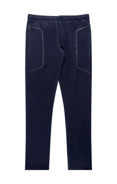 Urban - Tech Knit Two-In-One Zip Pocket Travel Pants in Navy