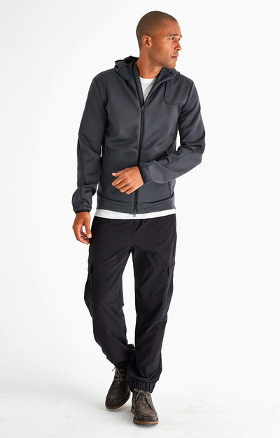 Odyssey - Ultra-Tech Travel Hoodie in Charcoal