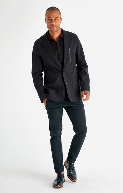 Individualist - The Ultimate Travel Tech-Blazer in Black