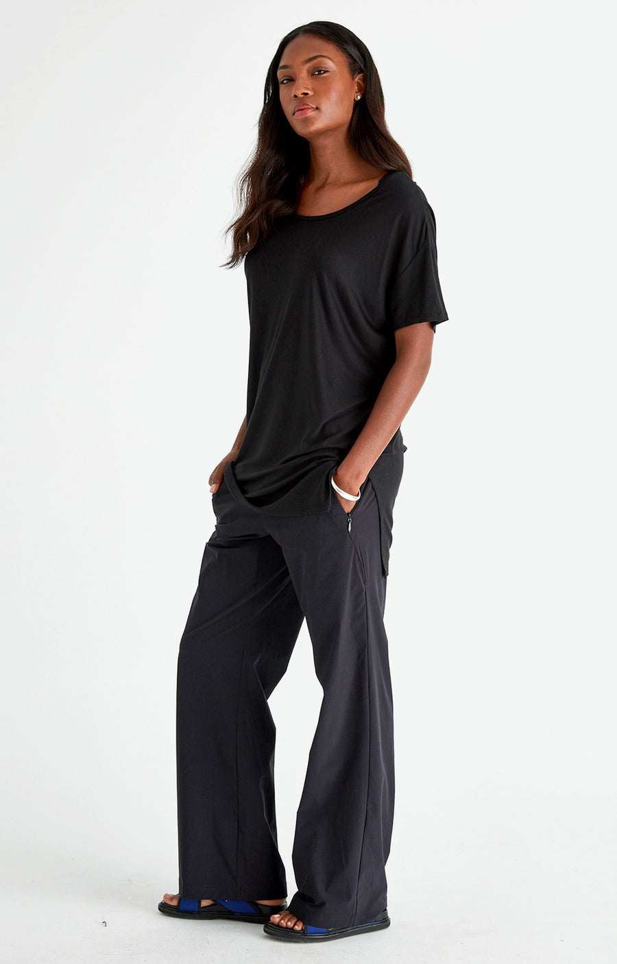 Imagine - Insanely Comfy Long-Haul Flight Pant in Black
