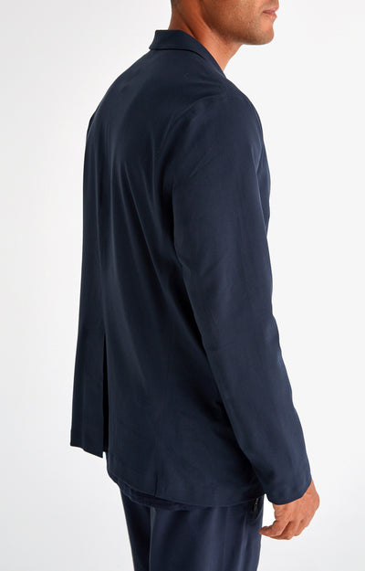 Individualist - The Ultimate Travel Tech-Blazer in Navy